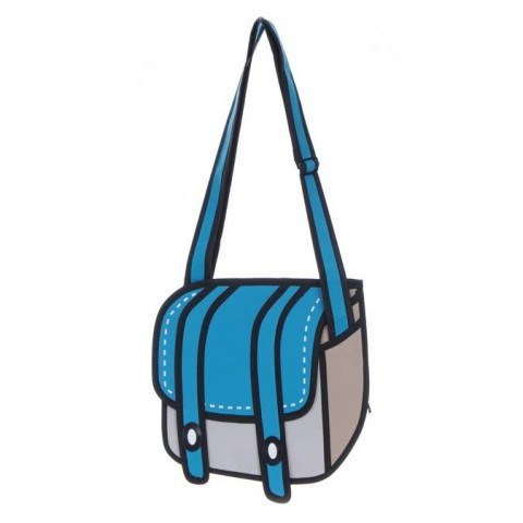 2D Bag - Oxford Messenger