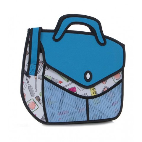 2D Bag - Comic Cosmetic Carry Bag
