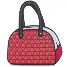 2D Bag - Red X Monogram Carry Bag