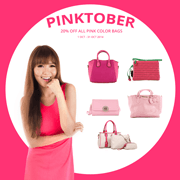 Pinktober 2014: Best Chance To Grab Pink Color Handbags!